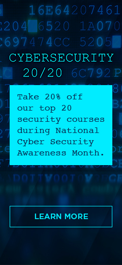Cybersecurity security awareness month promotion.