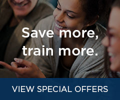 Save more, train more.