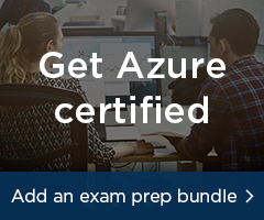 Get Azure certified. Add an exam prep bundle.