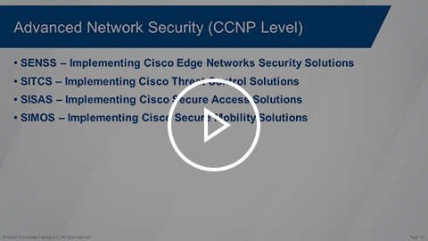 Overview of the Cisco Security curriculum