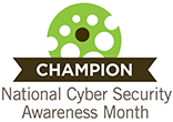 National Cyber Security Awareness Month Champion logo
