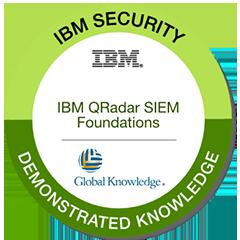 IBM QRadar SIEM Foundations badge