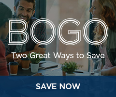 BOGO: Two great ways to save