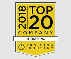 2018 Top 20 IT Training Company according to TrainingIndustry.com