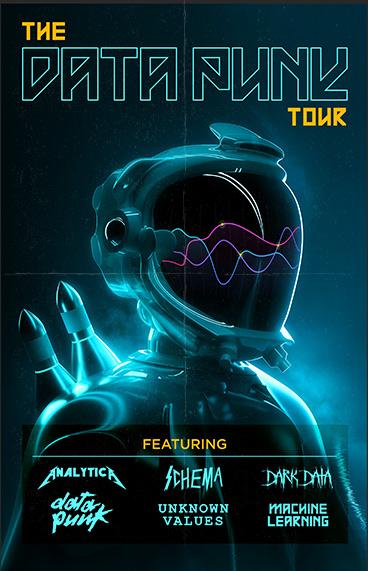 Data Punk Tour Poster